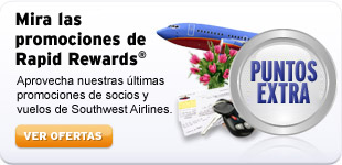 ¡Mira nuestras promociones de Rapid Rewards!