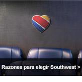 Razones para elegir Southwest